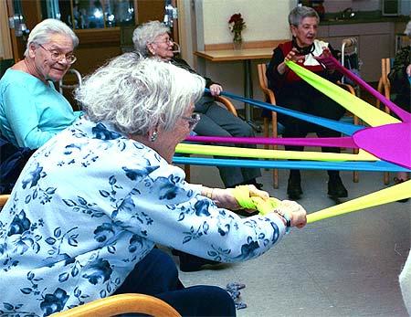 physical games for elderly